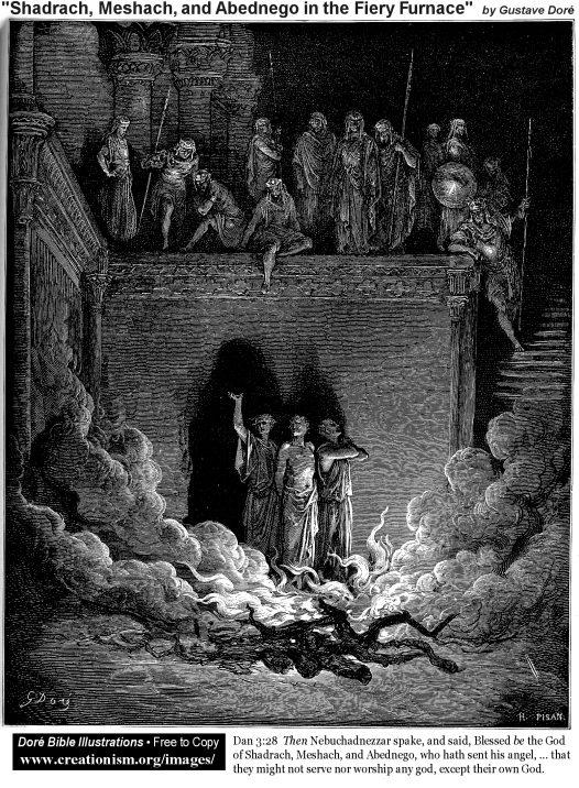 Sarakh, Mesakh dan Abednego