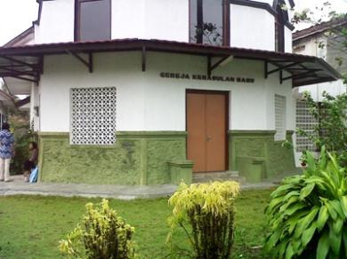 Gereja Kerasulan Baru Magelang Jl Brigjen Katamso 12 Kota Magelang